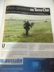 Reportaje en el periódico El Progreso